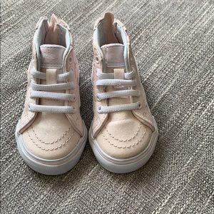 Vans Shoes - Vans shoes size 4 sparkly pink unicorns